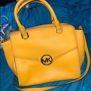 Michael Kors Shoulder Bag Satchel Leather